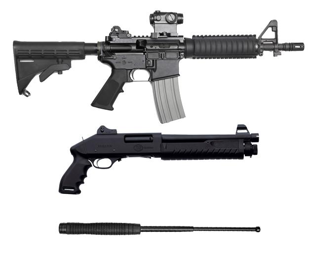 Оружие и самозащита