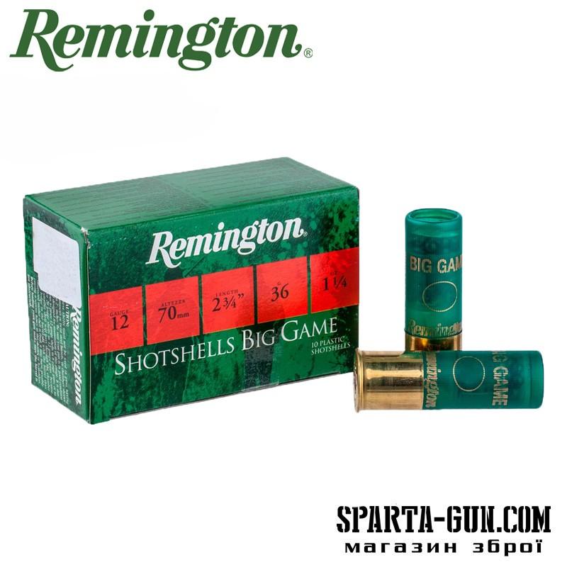 Remington BP Buckshot 36 (3/0)