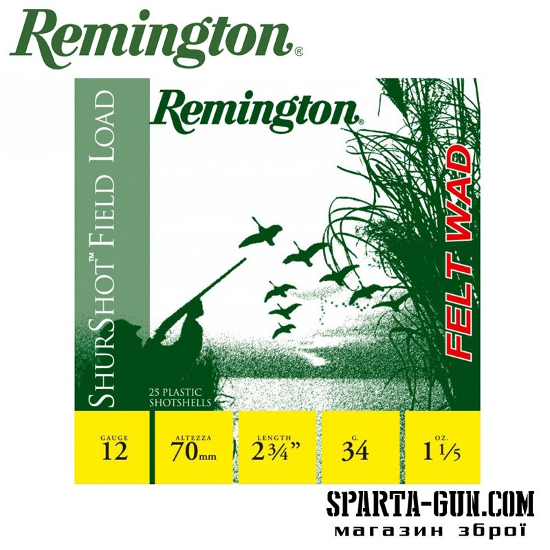 Remington BP Shurshot Field Load 34 (4) FW (без контейнера)