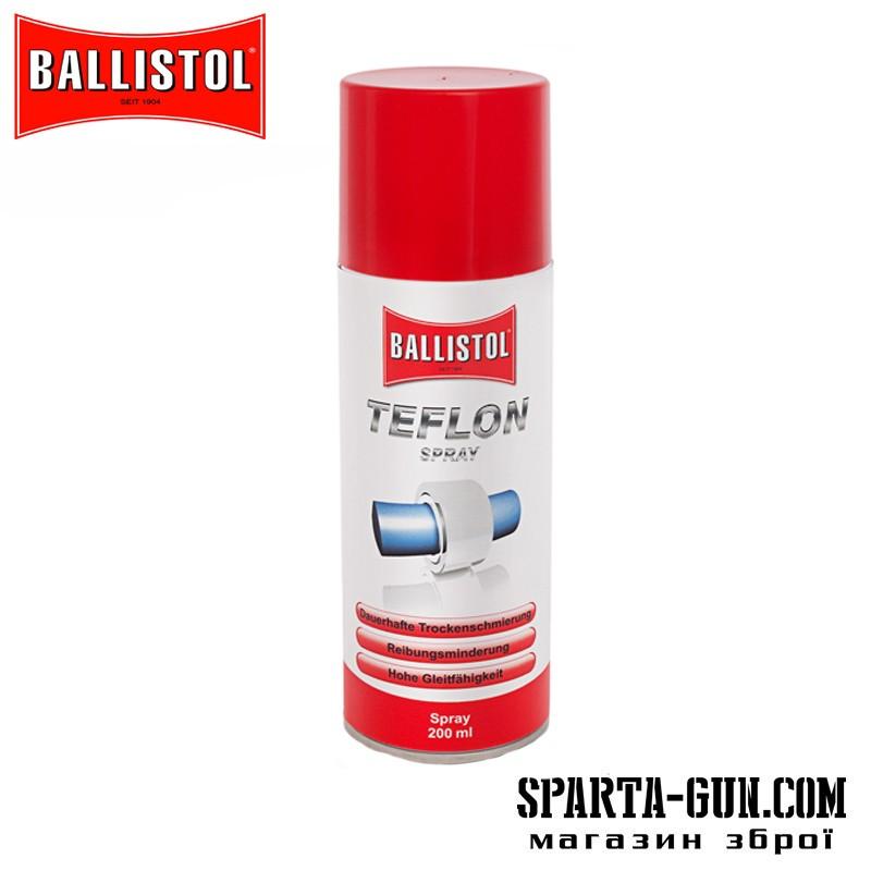 Мастило тефлонове Ballistol TeflonSpray 200 мл