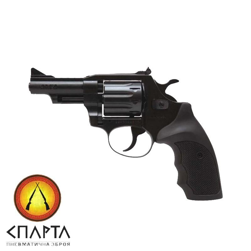 Револьвер Флобера ALFA model 431 (черный, пластик)