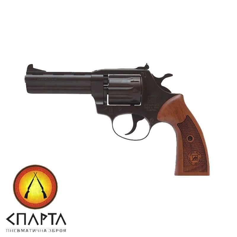 Револьвер Флобера ALFA model 441 Classic (черный, дерево)