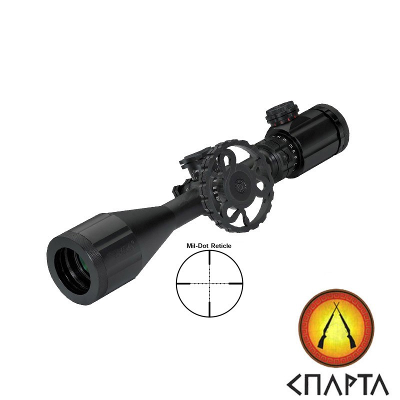Прицел BSA Stealth Tactical Range 6-24х44 IR, Mil-Dot