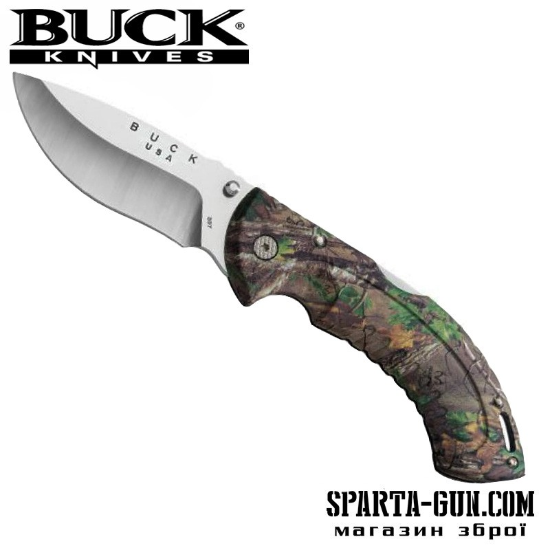 Ніж Buck, Folding Omni Hunter 12 PT камуфляж Realtree