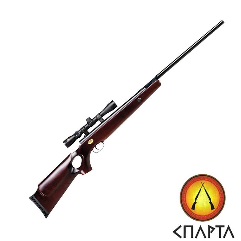 Пневматическая винтовка  Beeman Bear Claw Gas Ram с оптическим прицелом 3-9х32