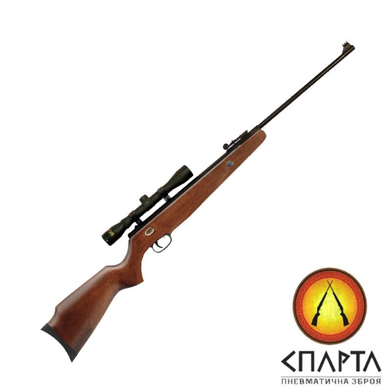 Пневматическая винтовка  Beeman Grizzly X2 Gas Ram с прицелом 4х32