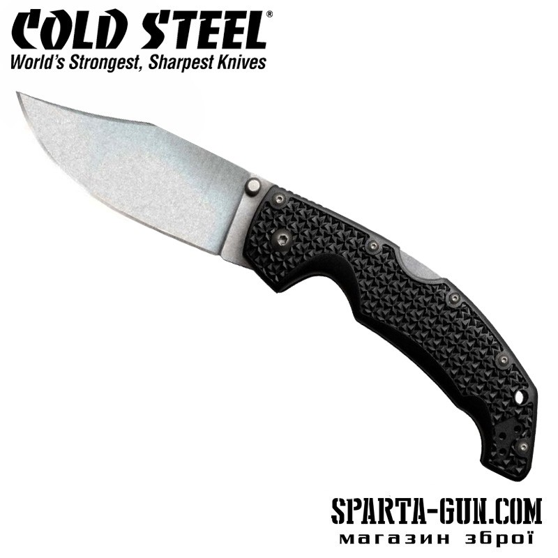 Ніж Cold Steel Voyager Large Clip Point Plain Edge Clamshell