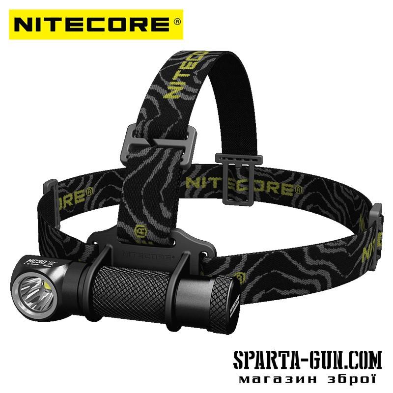 Ліхтар налобний Nitecore HC30 (Cree XM-L2 U2 1000 люмен, 8 режимів, 1x18650)