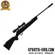 Гвинтівка пневматична Beeman Kodiak Gas Ram кал. 4.5 мм (Оптичний приціл 4х32)