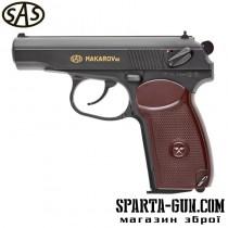 Пістолет пневматичний SAS Makarov SE кал. 4.5 мм