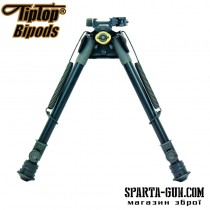 Сошки TipTop S9 Tactical (шарнірна база) довжина - 17,7-26,6 см