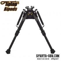 Сошки TipTop S7N (шарнірна база + панорама; ступінчасті ноги) довжина - 15,2-22,8 см
