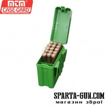 Коробка MTM на 20 патронів кал. 243; 308 Win. Колір зелений