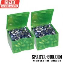 Коробка для куль MTM Cast Bullet Box (8,6х8,6х6,3 см) (2 шт). Колір зелений