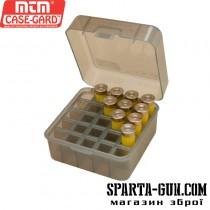 "Коробка MTM Dual Gauge Shotshell Case 3.5 ""на 25 патронів кал. 12/89. Колір - димчастий"