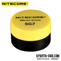 Силіконова змазка Nitecore SG7 для ліхтарів і лазерів (5г)