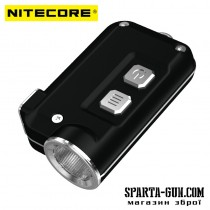 Ліхтар Nitecore TINI (Cree XP-G2 S3 LED, 380 люмен, 4 режиму, USB), Black