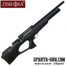 Пневматична гвинтівка PCP Козак 550/220 (кал. 4,5 мм, чорний / чорний) LWW