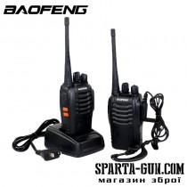 Портативна аматорська рація Baofeng BF-888S (пара)