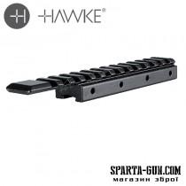 Планка Hawke Adaptor Base 11мм - Weaver/Picatinny