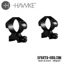 Кріплення-кільця Hawke Precision Steel 30 мм