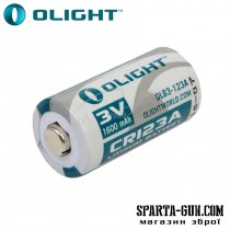 Батарея Olight CR123A 3.0V,1600mAh