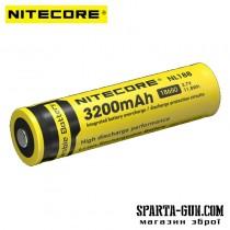 Акумулятор літієвий Li-Ion 18650 Nitecore NL188 3.7V (3200mAh), захищений
