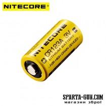 Батарейка літієва Li-Ion CR123A / 16340 Nitecore 3V (1550mAh)