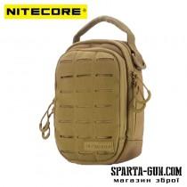 Сумка EDC, тактична Nitecore NUP20 (Cordura 1000D), tan
