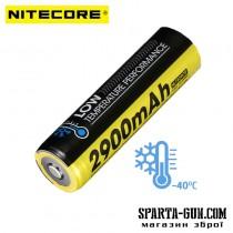 Акумулятор літієвий Li-Ion 18650 Nitecore NL1829LTP 3.6V (2900mAh, -40 ° С), захищений