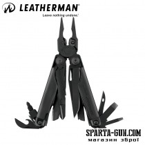 Мультитул LEATHERMAN Surge-black