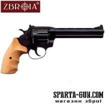 "Револьвер Флобера ZBROIA Super Snipe 6 ""(дерево)"