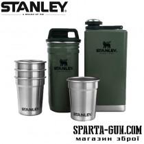 Набір Stanley фляга + чарки + сталевий кейс з кришкою для чарок Adventure