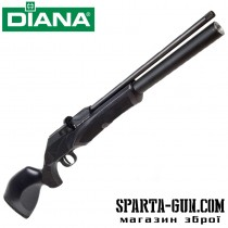Гвинтівка пневматична Diana P1000 Evo2 TH Black PCP 4,5 мм