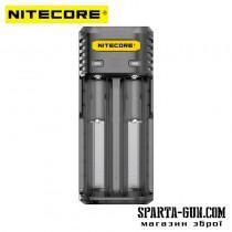 Зарядний пристрій Nitecore Q2 (2 канали), чорний