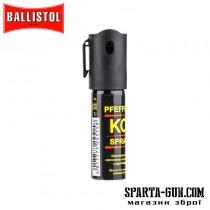 Газовий балончик Klever Pepper KO Spray спрей. Обсяг - 15 мл
