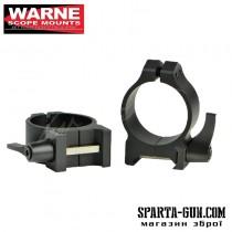 Кільця швидкоз'ємні Warne MAXIMA Quick Detach Rings