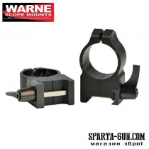 Кільця швидкоз'ємні Warne MAXIMA Quick Detach Ring