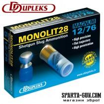 Патрон D Dupleks Monolit Magnum 28