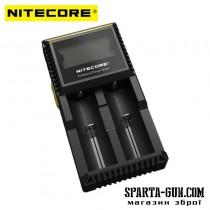 Зарядний пристрій Nitecore Digicharger D2 з LED дисплеєм (2 канали)