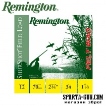Remington Shurshot Field felt wad 34 (4) FW (БЕЗ КОНТЕЙНЕРА)