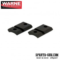 Планка роздільна Warne MAXIMA 2-Piece Steel Rail (Weaver / Picatinny) для карабінів Marlin XL-7 і Winchester 70 Standard Action. Сталь.