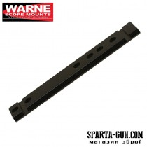 Планка Warne 1-Piece Aluminum Rail (Weaver / Picatinny) для карабіна Marlin Lever Action. Алюміній.