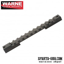 Планка Warne MAXIMA Tactical 1-Piece Steel Rail (Weaver / Picatinny) для карабіна Remington 700 Short Action. Матеріал - сталь