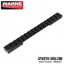 Планка Warne Maxima M669M для карабінів Savage Long Action Non Accu-Trigger. Матеріал - сталь