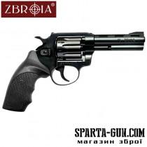 """Револьвер Флобера ZBROIA Snipe 4 """"(пластик)"""