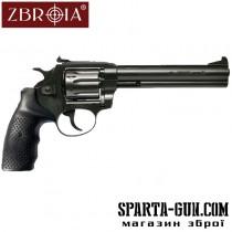 "Револьвер Флобера ZBROIA Super Snipe 6 ""(Гумово-метал)"