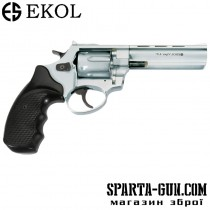 "Револьвер Флобера Voltran Ekol Viper 4.5 ""(хром / пластик)"