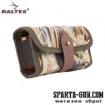 Патронташ-підсумок з еластичними кишенями під 12 шт. патронів 12, 16, 20 калібру