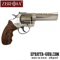 "Револьвер флобера ZBROIA PROFI-4.5 ""(сатин / дерево)"